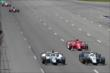 Track action heats up at the start of the Pocono INDYCAR 500 -- Photo by: Bret Kelley