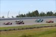 The field starts to form up for the start of the Pocono INDYCAR 500 at Pocono Raceway -- Photo by: Chris Jones