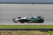 Ed Carpenter enters Turn 3 during the Pocono INDYCAR 500 at Pocono Raceway -- Photo by: Chris Jones