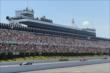 Track action heats up during the Pocono INDYCAR 500 at Pocono Raceway -- Photo by: Chris Jones