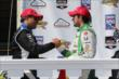 Juan Pablo Montoya and Carlos Munoz -- Photo by: Chris Jones