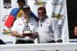 Roger Penske and Brandon Igdalsky -- Photo by: Chris Jones