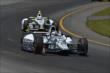 Graham Rahal and Josef Newgarden -- Photo by: Chris Owens