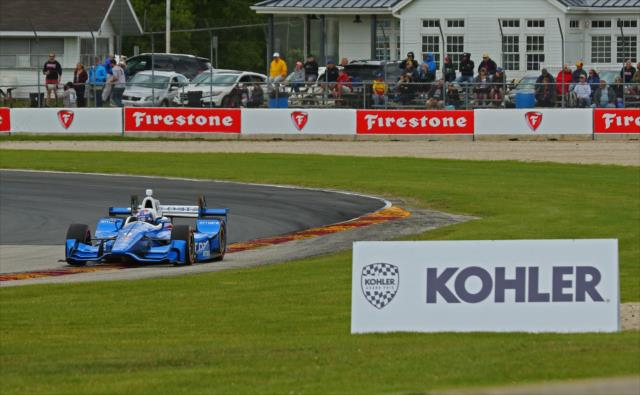Spettacolare successo a Road America. Mike Harding, indycar.com