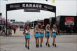 The UFD Girls walk into the Texas Motor Speedway paddock -- Photo by: Chris Jones