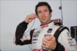 Simon Pagenaud prepares for practice for the Firestone 600 at Texas Motor Speedway -- Photo by: Chris Jones