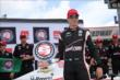 Will Power wins the Verizon P1 Award for winning the pole for the Firestone 600 at Texas Motor Speedway -- Photo by: Chris Jones