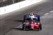 Scott Dixon & Ryan Briscoe go nose-to-tail during the evening practice session at Texas Motor Speedway for the Firestone 600 -- Photo by: Chris Jones