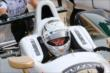 Ed Carpenter sits in his car during practice for the Firestone 600 at Texas Motor Speedway -- Photo by: Chris Jones