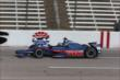 Graham Rahal on course during practice for the Firestone 600 at Texas Motor Speedway -- Photo by: Chris Jones