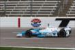 James Hinchcliffe on course during practice for the Firestone 600 at Texas Motor Speedway -- Photo by: Chris Jones