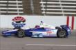 Helio Castroneves on course during practice for the Firestone 600 at Texas Motor Speedway -- Photo by: Chris Jones