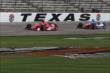 Scott Dixon and Josef Newgarden to nose-to-wing during practice for the Firestone 600 at Texas Motor Speedway -- Photo by: Chris Jones