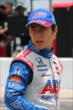 Takuma Sato on pit lane during qualifications for the Firestone 600 at Texas Motor Speedway -- Photo by: Chris Jones