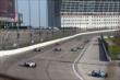Track action heats up during the evening practice session at Texas Motor Speedway for the Firestone 600 -- Photo by: Chris Jones
