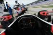 A cockpit view from Justin Wilson's car prior to practice at Texas Motor Speedway -- Photo by: Chris Owens