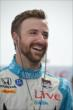 James Hinchcliffe begins preparing for practice at Texas Motor Speedway -- Photo by: Chris Owens