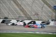 Simon Pagenaud and Josef Newgarden go side-by-side during practice for the Firestone 600 at Texas Motor Speedway -- Photo by: Chris Owens