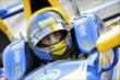 Marco Andretti looks over to his crew during practice for the Firestone 600 at Texas Motor Speedway -- Photo by: Chris Owens