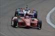 Ganassi teammates Scott Dixon and Ryan Briscoe on course during practice for the Firestone 600 at Texas Motor Speedway -- Photo by: Chris Owens