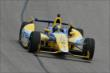 Marco Andretti on course during practice for the Firestone 600 at Texas Motor Speedway -- Photo by: Chris Owens