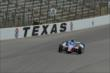 Josef Newgarden on course during practice for the Firestone 600 at Texas Motor Speedway -- Photo by: Chris Owens