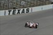 Juan Pablo Montoya on course during practice for the Firestone 600 at Texas Motor Speedway -- Photo by: Chris Owens