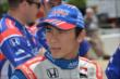 Takuma Sato on pit lane prior to qualifications for the Firestone 600 at Texas Motor Speedway -- Photo by: Chris Owens