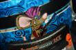 Mouse rockin' out on the back of Mikhail Aleshin's helmet at Texas Motor Speedway -- Photo by: Chris Owens