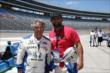 Mario Andretti and UFC Welterweight Champion Johnny