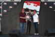 Will Power receives the Verizon P1 Award for winning the pole for the Firestone 600 at Texas Motor Speedway -- Photo by: Chris Jones