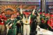 Ed Carpenter celebrates his victory in the Firestone 600 at Texas Motor Speedway -- Photo by: Chris Owens