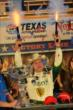 Ed Carpenter shoots the six-shooters as the victor of the Firestone 600 at Texas Motor Speedway -- Photo by: Chris Owens
