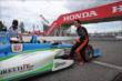 Simon Pagenaud with the IndyCar 2-Seater at the Honda Indy Toronto -- Photo by: Chris Jones
