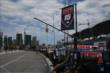 The Rahal Letterman Lanigan pit stall gets prepped for the Honda Indy Toronto doubleheader -- Photo by: Chris Jones