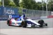 Mikhail Aleshin enters Turn 5 during practice for the Honda Indy Toronto -- Photo by: Chris Jones