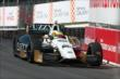 Mike Conway enters Turn 4 during practice for the Honda Indy Toronto -- Photo by: Chris Jones