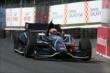Jack Hawksworth enters Turn 4 during practice for the Honda Indy Toronto -- Photo by: Chris Jones