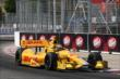 Ryan Hunter-Reay apex Turn 11 during practice for the Honda Indy Toronto -- Photo by: Chris Jones