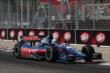 Graham Rahal enters Turn 11 during practice for the Honda Indy Toronto -- Photo by: Chris Jones