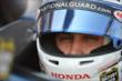 Graham Rahal sits in his car prior to practice for the Honda Indy Toronto -- Photo by: Chris Owens