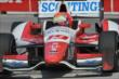 Justin Wilson apexes Turn 1 during practice for the Honda Indy Toronto -- Photo by: Chris Owens