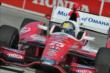 Marco Andretti apexes Turn 1 during practice for the Honda Indy Toronto -- Photo by: Chris Owens