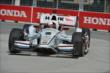 Juan Pablo Montoya apexes Turn 1 during practice for the Honda Indy Toronto -- Photo by: Chris Owens