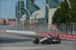 Will Power enters Turn 1 during practice for the Honda Indy Toronto -- Photo by: Chris Owens
