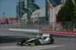 Josef Newgarden enters Turn 1 during practice for the Honda Indy Toronto -- Photo by: Chris Owens