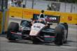 Will Power enters Turn 8 during practice for the Honda Indy Toronto -- Photo by: Chris Owens
