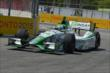 Carlos Munoz exits Turn 8 during practice for the Honda Indy Toronto -- Photo by: Chris Owens