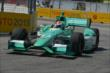 Charlie Kimball exits Turn 8 during practice for the Honda Indy Toronto -- Photo by: Chris Owens