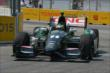 Sebastien Bourdais exits Turn 8 during practice for the Honda Indy Toronto -- Photo by: Chris Owens